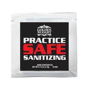 White Sanitizing Gel Pack