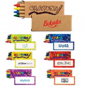 Budget 4 Pack Crayons