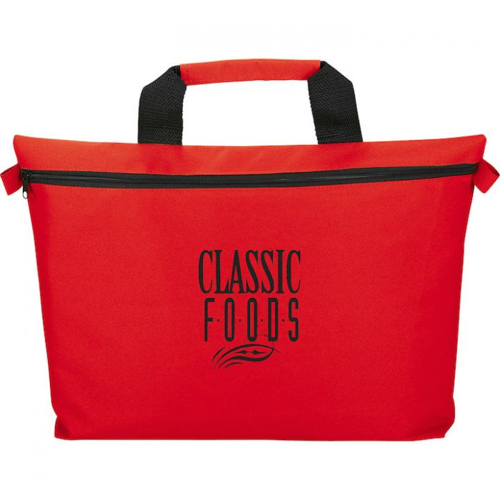Edge Document Messenger Bags - Red