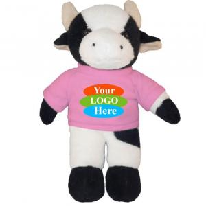"""Cow in T-shirt 8"""""""