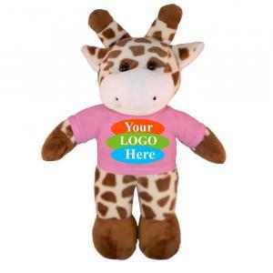 """Giraffe in T-shirt 8"""""""