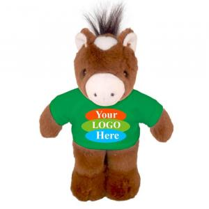 """Horse in T-shirt 8"""""""