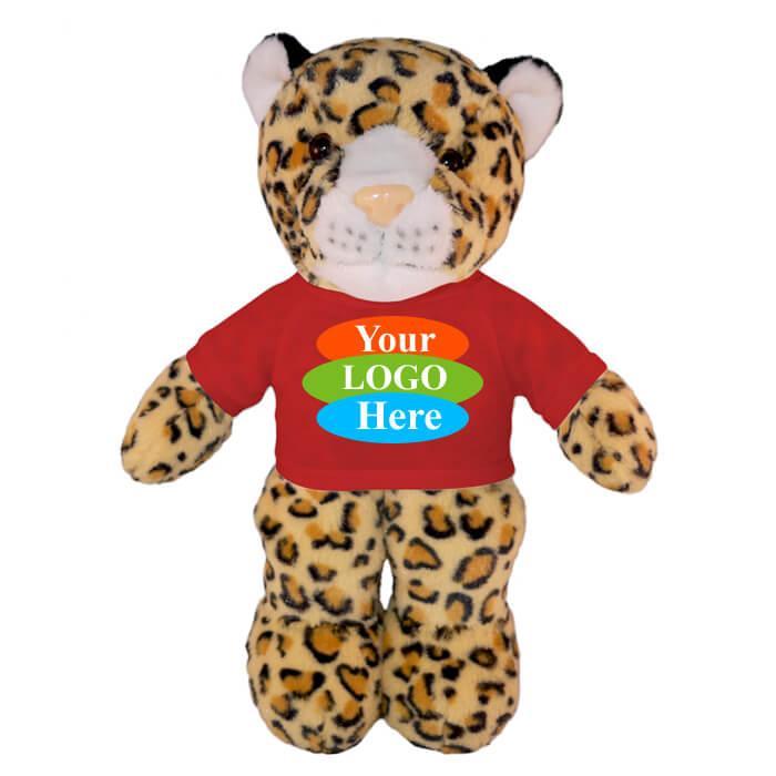 """Leopard in T-shirt 8"""""""