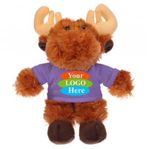 """Moose in T-shirt 8"""""""