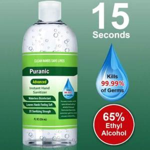 65% 8oz Hand Sanitizer