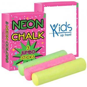 3 Pack Jumbo Neon Chalk