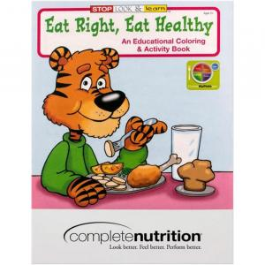 Eat Right Eat Healthy Coloring Book
