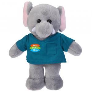 """Elephant in Scrub Shirt 8"""""""