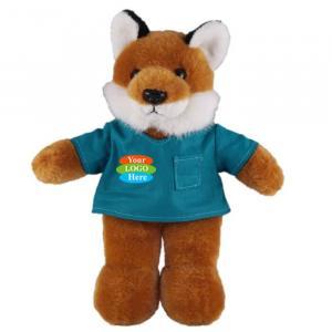 "Fox in Scrub Shirt 8"""