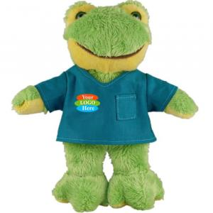 """Frog in Scrub Shirt 8"""""""