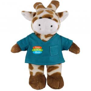 """Giraffe in Scrub Shirt 8"""""""