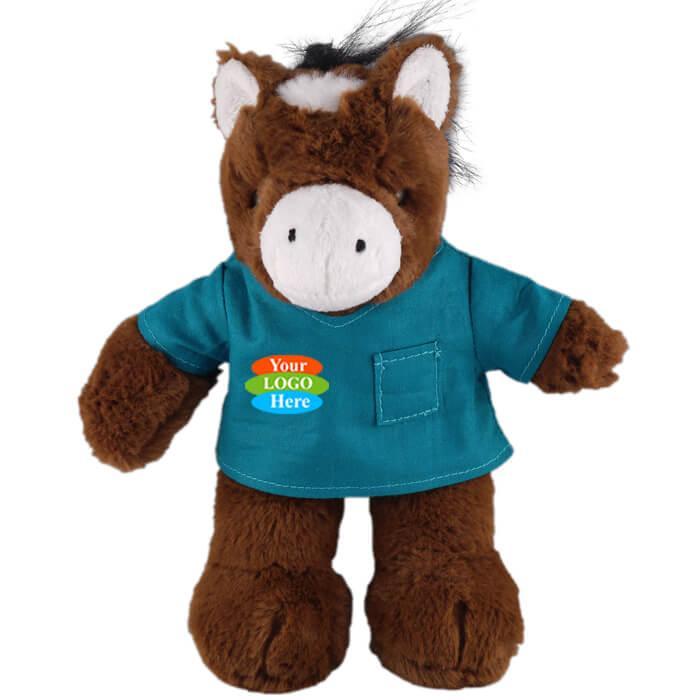 "Horse in Scrub Shirt 8"""