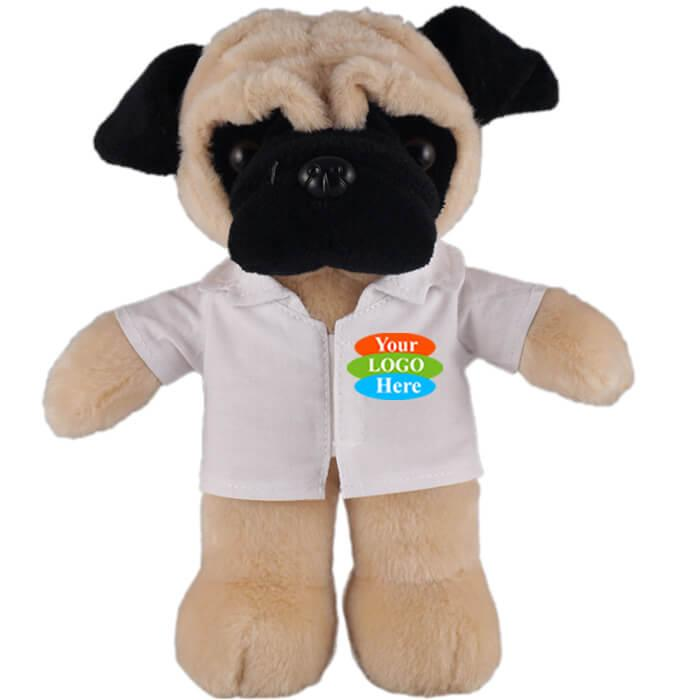 "Pug in Doctor Jacket 8"""