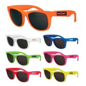 Kids Solid Classic Sunglasses