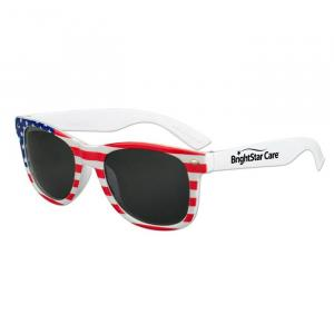 Red, White, and Blue Iconic Sunglasses