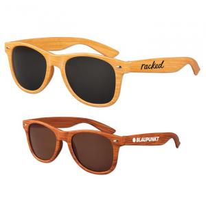 Iconic Wood Grain Sunglasses