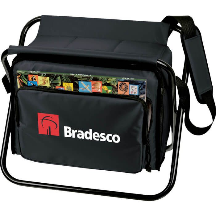 Deluxe Cooler Chair Lunch Bags Customized Imprinted Logo