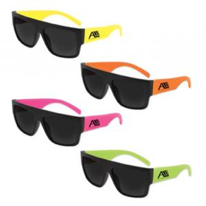 Beachcomber Sunglasses Assorted Neon Colors