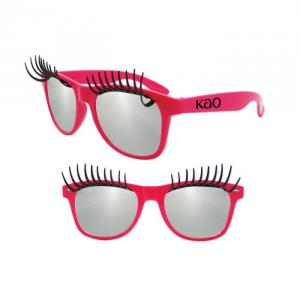 Eyelash Glasses Pink