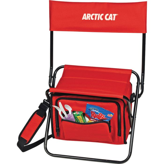 Custom Printed Folding Insulated Cooler Chair Lunch Bags
