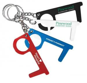 Touch Free Tool Key Chain