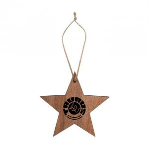Wood Ornaments Star