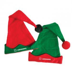 Elf Hat with Pom Poms