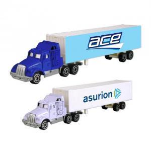 Die-cast Tractor Trailer Truck
