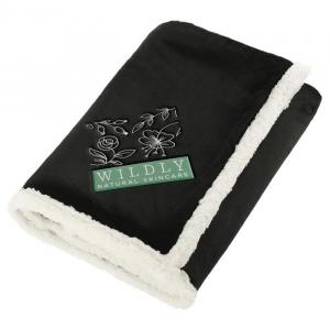 100% Recycled PET Sherpa Blanket