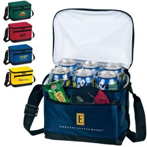 Deluxe 6 Pack Insulated Lunch Bags