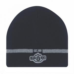 "8"" Narrow Beanie with Reflective Stripe"