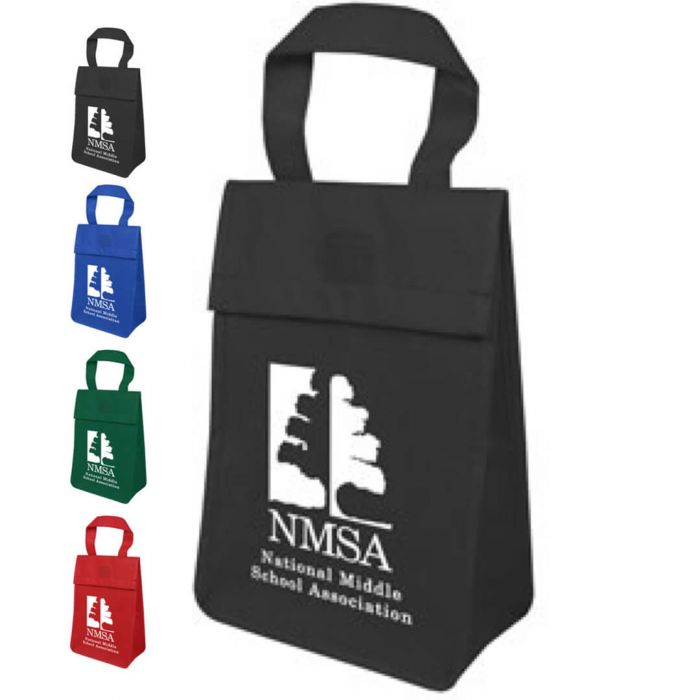 Non Insulated Tote Lunch Bags