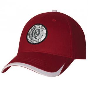 Medium Weight Brushed Cotton with Contrast Visor Insert & Button