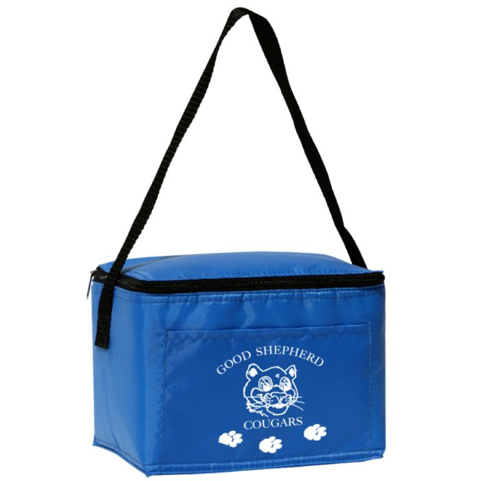 6 Pack Cooler ~ Custom printed six pack coolers lunch bags personalized