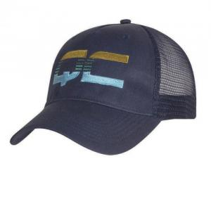 Structured Light Weight Polyester Twill with Trucker Mesh