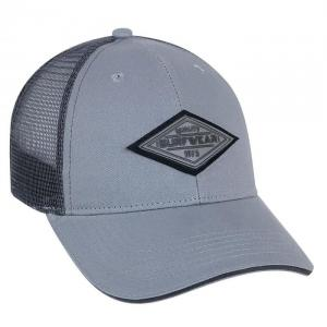 Brushed Cotton with Graphite Trucker Mesh & Sandwich