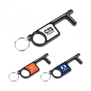 No Touch Tool Wuth Key Ring and Stylus