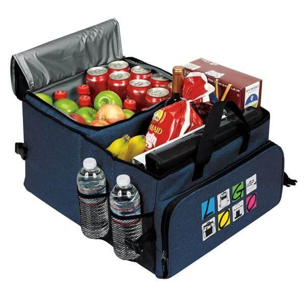 Deluxe 40 Cans Cooler / Trunk Organizer