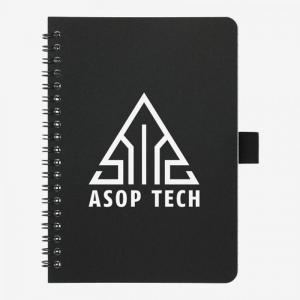 """5"""" x 7"""" Spiral Notebook with Antimicrobial Additiv"""