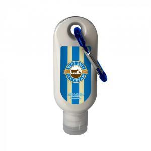 1.9 oz. SPF 30 Sunscreen in Clear Bottle w/ Carabiner & Clear Flip Top