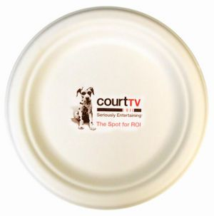 6.75 Inch Compostable Paper Plates  sc 1 st  Promotion Choice & Custom Paper Plates Personalized Paper Plates Imprinted With Logo ...