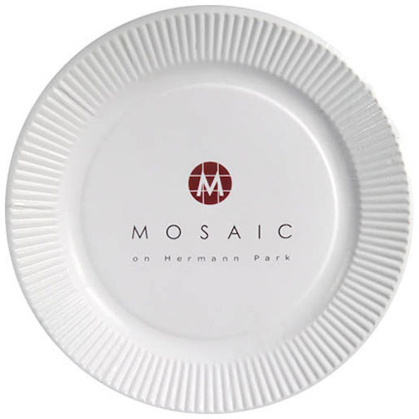 9 inch White Paper Plates