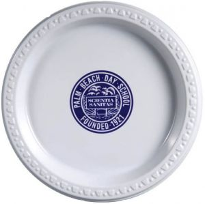 7 Inch White Plastic Plates  sc 1 st  Promotion Choice & Custom Plastic Plates Personalized Plastic Plates Imprinted With ...