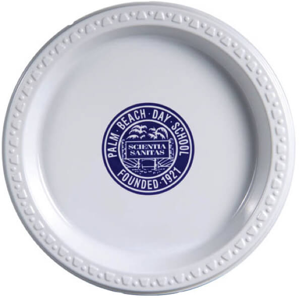 sc 1 st  Promotion Choice & 7 inch White Plastic Plates