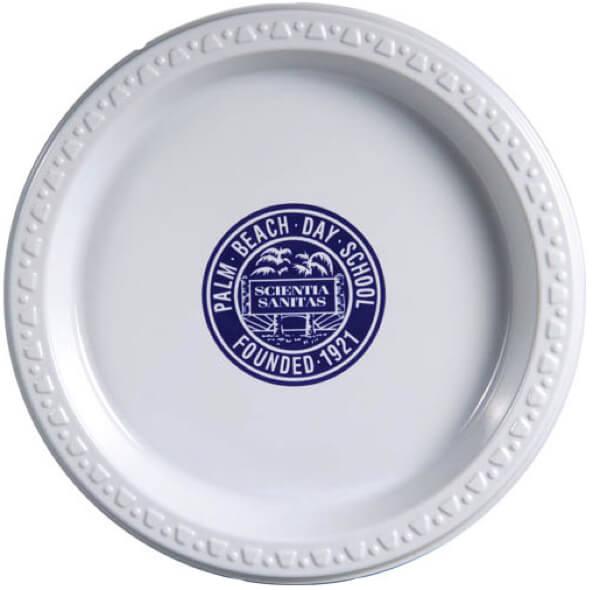 7 inch White Plastic Plates