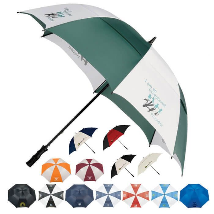 "62"" Golf Vented Umbrellas"