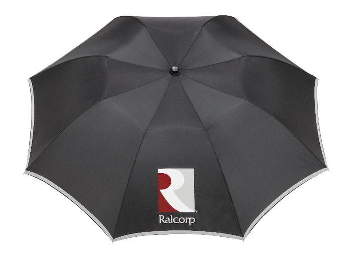 "42"" Auto Folding Safety Umbrellas - Black"