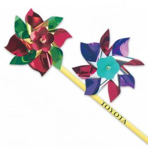 "4"" Assorted Colored Pinwheels"