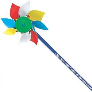 "4"" Plastic Fun Pinwheels"