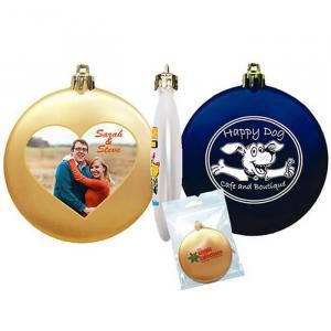Personalized Flat Shatterproof Ornaments